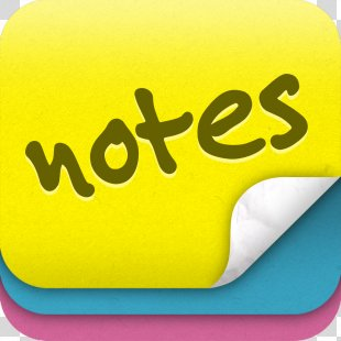 Post-it Note IPod Touch Notes - Sticky Note PNG