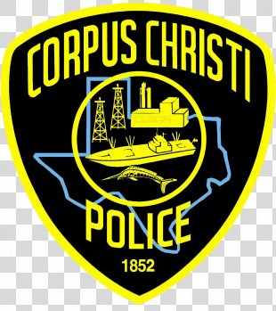 Corpus Christi Police Department Police Officer Crime Badge - Police Officer PNG