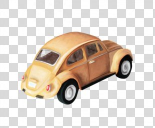 Model Car Volkswagen Beetle Automotive Design Van - A Car PNG