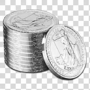 Silver Coin Silver Coin Britannia Perth Mint - Silver PNG