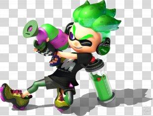 Splatoon 2 Nintendo Switch Electronic Entertainment Expo 2017 Wii U - Splatoon 2 Paint Brush PNG