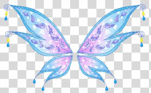 Tecna Winx Club: Believix In You Bloom Musa Flora - Wings PNG