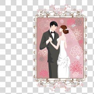 Wedding Invitation Bridegroom - Bride And Groom Wedding PNG
