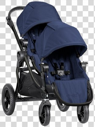Baby Jogger City Select Double Baby Transport Baby Jogger City Mini GT - Baby Cart PNG