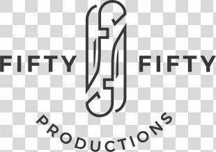 Social Media Brand Knife Logo Fifty Fifty Productions - Social Media PNG