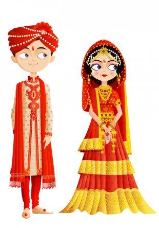 Wedding Invitation Bridegroom Hindu Wedding Weddings In India - Wedding PNG