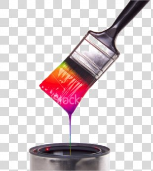 Paintbrush House Painter And Decorator Drip Painting - Paintbrush PNG