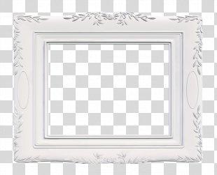 Download White Clip Art - Elegant White Frame PNG