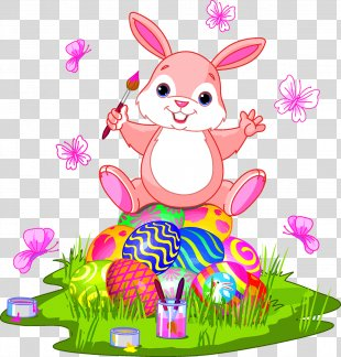 Easter Bunny Easter Egg Clip Art - Easter Egg Bunny PNG