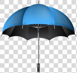 Umbrella Icon Stock Photography Clip Art - Blue Umbrella Transparent Clip Art Image PNG