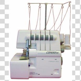 Sewing Machines Sewing Machine Needles Overlock - Sewing Machine PNG