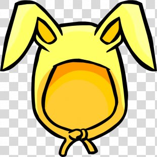 Club Penguin Easter Bunny Rabbit Ear Clip Art - Easter Bunny Ears Free Download PNG