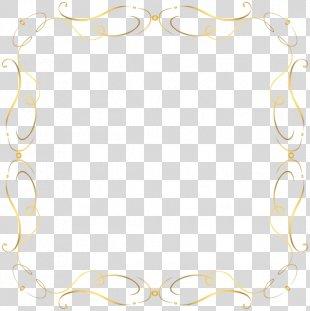 Paper Clip Art - Handpainted Border PNG