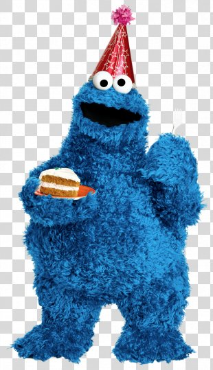 Cookie Monster Ernie Elmo Count Von Count Telly Monster - Cookie Monster PNG