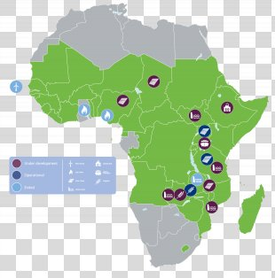 Africa World Map Road Map - Africa PNG