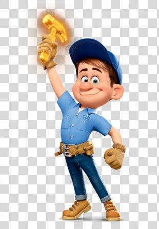 Fix-It Felix Wreck-It Ralph Vanellope Von Schweetz Character Film - Wreck It Ralph Image PNG
