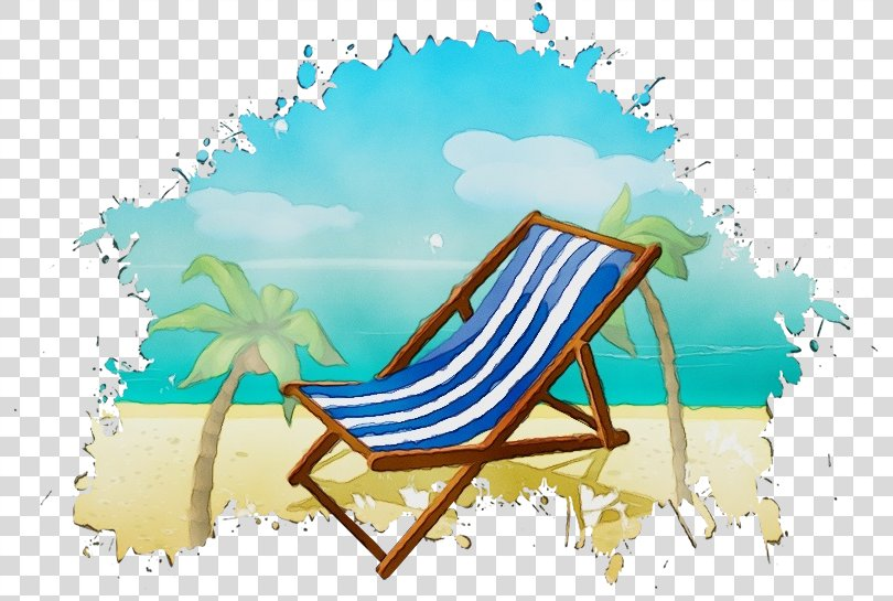 Summer Background Design, Chaise Longue Furniture PNG