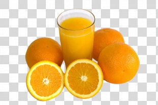 Orange Juice Orange Drink Orange Soft Drink Lemon-lime Drink - Orange PNG
