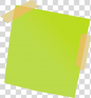Post-it Note Paper Adhesive Tape - Sticky Note PNG
