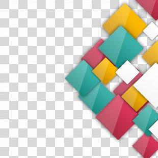 Euclidean Vector Wallpaper - Vector Crystal Box PNG