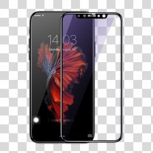 IPhone X IPhone 6S Apple IPhone 7 Plus Screen Protectors Tempered Glass - Iphone X Transparent PNG