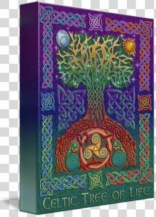 Book Of Kells Celtic Art Celtic Knot Tree Of Life - Celtic Tree Of Life PNG
