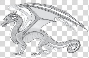 Wings Of Fire Coloring Book The Dragonet Prophecy - Wings PNG