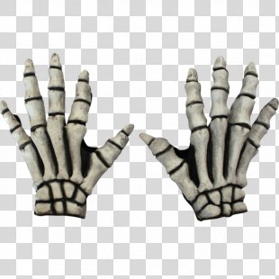 Skeleton Glove Costume Clothing Accessories Hand - Skeleton PNG