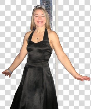Little Black Dress Gown Photo Shoot Photography - Dress PNG