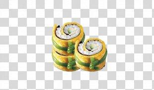 California Roll Sushi Gimbap Japanese Cuisine Makizushi - Japanese Sushi Rolls PNG