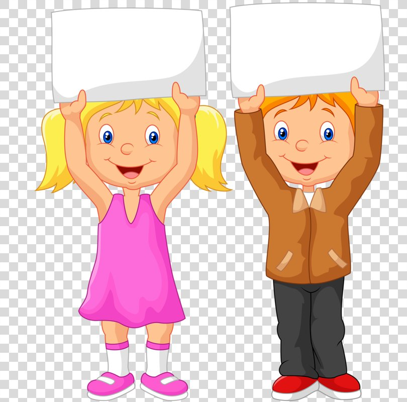 Drawing Poster Child Caricature Illustration, Cartoon Children PNG