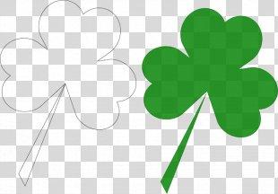 Ireland Shamrock Saint Patrick's Day 17 March Clip Art - Saint Patrick's Day PNG