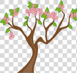 Spring Tree Clip Art - Spring Cliparts PNG