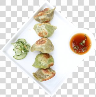 Mandu Wonton Momo Asian Cuisine Food - Food Truck Front Window PNG