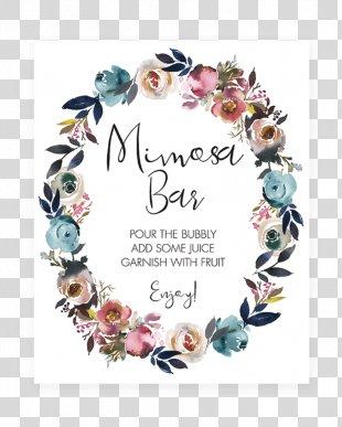 Wedding Invitation Baby Shower Boho-chic Gift - Baby Shower Flowers PNG