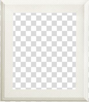 Wood Picture Frame White - White Frame PNG