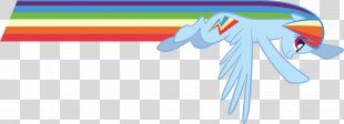 Rainbow Dash Rarity Flight Pony - Rainbow PNG
