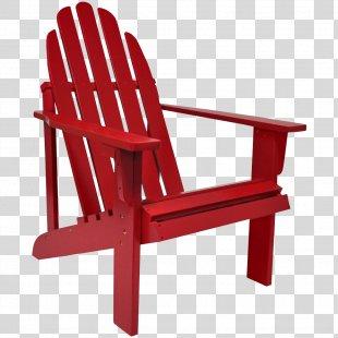 Shine Company Inc Adirondack Chair Garden Furniture Table - Chair PNG