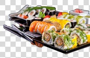 Sushi Makizushi Japanese Cuisine Pizza California Roll - Sushi PNG