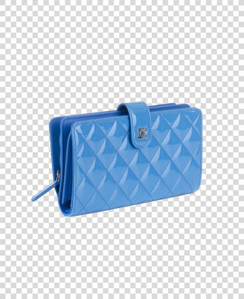 Chanel Handbag Wallet Coin Purse, CHANEL Female Models Blue Bag Purse PNG