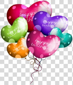 Happy Birthday To You Balloon Clip Art - Birthday Balloons PNG