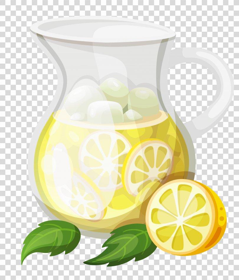 Lemonade Juice Pitcher Kool-Aid Clip Art, Transparent Ice Lemonade Clipart PNG