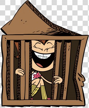 Luan Loud Joke Loud House Cartoon Animation - Jail PNG