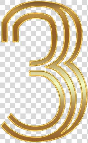 Oktoberfest In Germany 2018 Wedding Invitation Clip Art - Number Three Gold Clip Art Image PNG