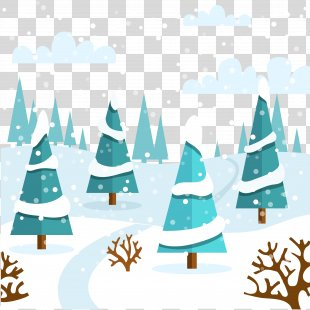 Snow Winter Euclidean Vector Clip Art - Winter Snow PNG