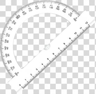 Ruler Protractor Stationery - Compasses Ruler Stationery Vector PNG