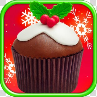 Christmas Cupcakes Maker FREE Ischoklad Muffin Candy Apple - Christmas Cupcakes Free Download PNG