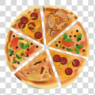Hot Dog Pizza Vegetarian Cuisine Fast Food Pita - Delicious Pizza PNG