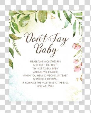 Infant Wedding Invitation Baby Shower Baby Sign Language - Wedding PNG