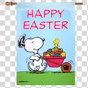 Snoopy Woodstock It's The Easter Beagle, Charlie Brown Easter Bunny - It's The Easter Beagle Charlie Brown PNG